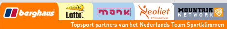 Topsport partners Nederlands Team Sportklimmen